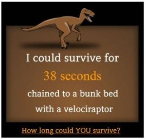 how long could you survive?