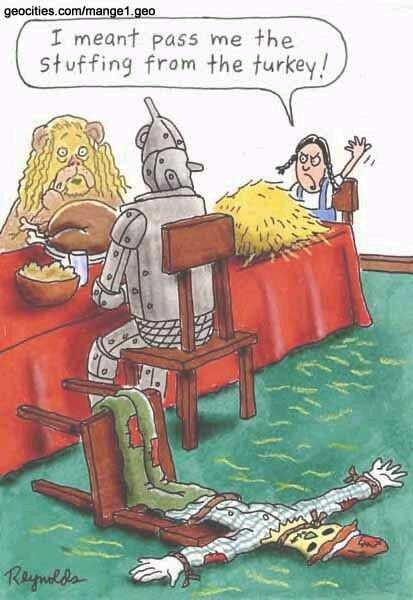 thanksgiving Oz style